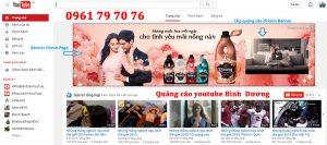 Quang Cao Youtube Binh Duong