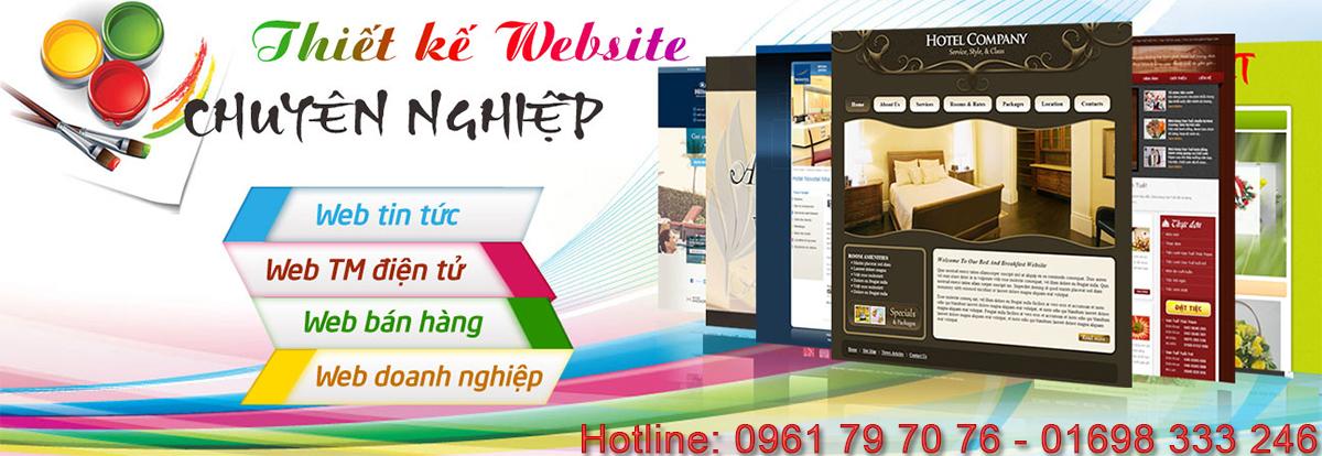 Thiết kế web tại Bình Dương