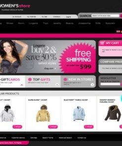 Thiết kế web bán quần áo