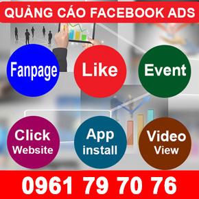 quảng cáo facebook bình dương