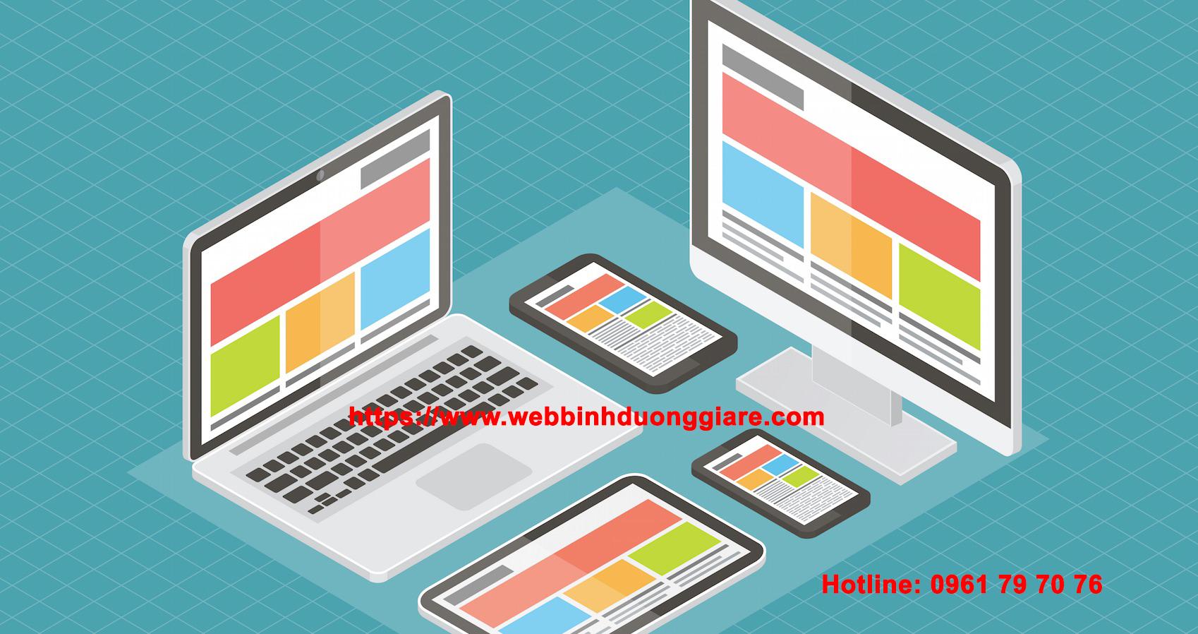 Binh Duong Website Design