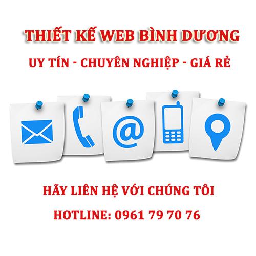 Lien He Thiet Ke Web Binh Duong