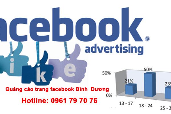Quảng Cáo Trang Facebook Bình Dương