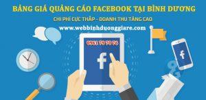 Bang Gia Quang Cao Facebook Binh Duong