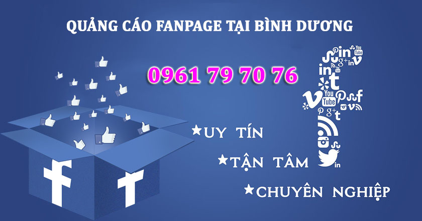 Quang Cao Fanpage Tai Binh Duong