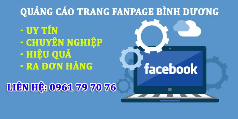 Quang Cao Trang Fanpage Binh Duong
