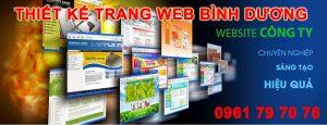 Thiet Ke Trang Web Binh Duong