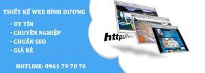 Thiet Ke Trang Website Binh Duong