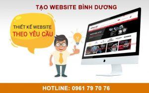 Tạo Website Bình Dương