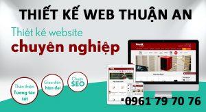 Thiết Kế Web Thuận An
