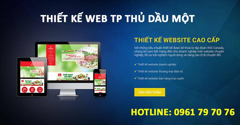 Thiết Kế Web TP Thủ Dầu Một