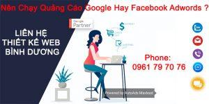 Nên Chạy Quảng Cáo Google Hay Facebook Adwords
