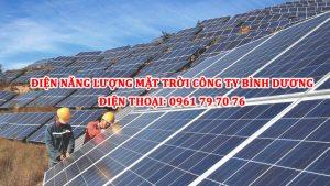 Dien Nang Luong Mat Troi Cong Ty Binh Duong