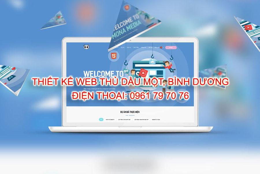Thiet Ke Web Thu Dau Mot Binh Duong