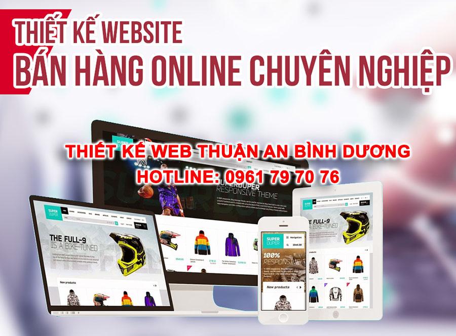 Thiet Ke Web Thuan An Binh Duong