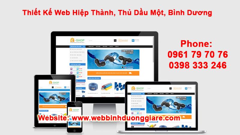 Thiet Ke Web Hiep Thanh Thu Dau Mot Binh Duong