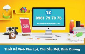 Thiet Ke Web Phu Loi Thu Dau Mot Binh Duong