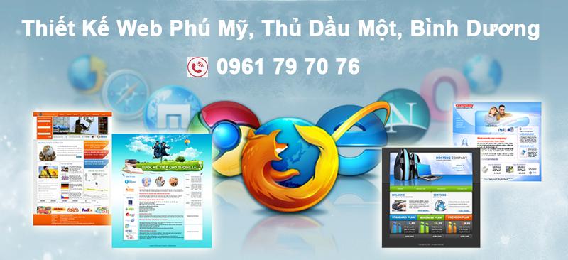 Thiet Ke Web Phu My Thu Dau Mot Binh Duong