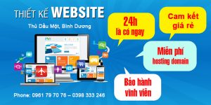 Thiết Kế Website Thủ Dầu Một Bình Dương