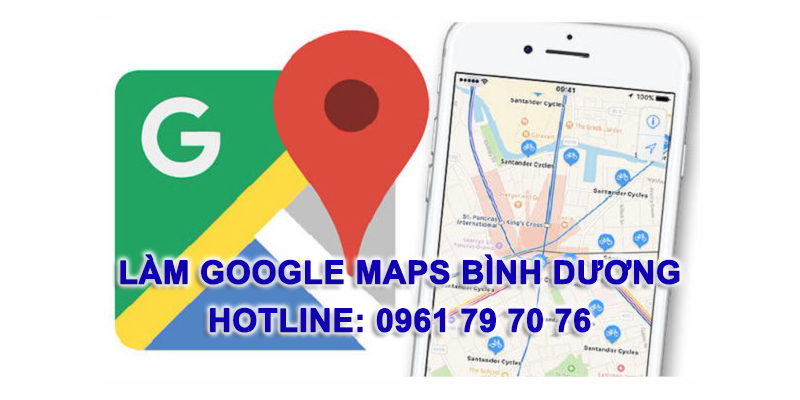 Lam Google Maps Binh Duong