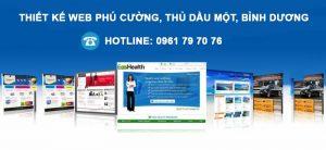 Thiet Ke Web Phu Cuong Thu Dau Mot Binh Duong