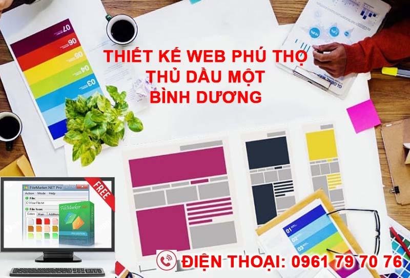 Thiet Ke Web Phu Tho Thu Dau Mot Binh Duong