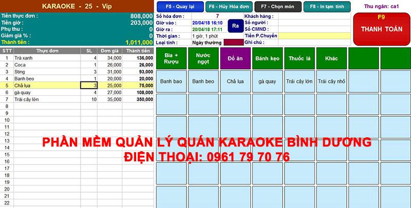 Phan Mem Quan Ly Karaoke Binh Duong