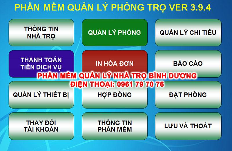 Phan Mem Quan Ly Nha Tro Binh Duong