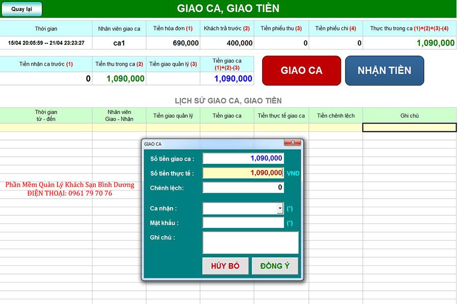 Phan Mem Quan Ly Khach San Binh Duong 13