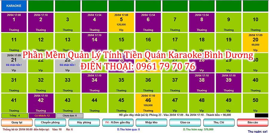 Phan Mem Quan Ly Tinh Tien Quan Karaoke Binh Duong 2